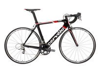 Cervelo S2 Carbon Red zwart/rood/wit